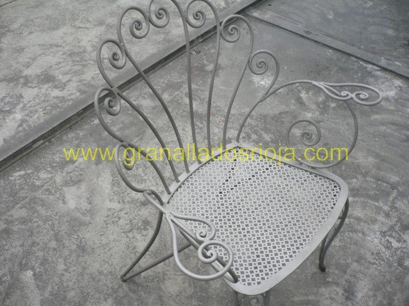 granallado chorreo silla jardin [800x600]