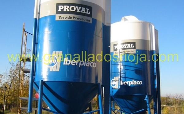 granallado y pintado de silos